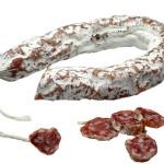 Salami mit Scheiben